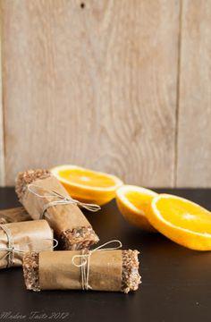 Modern Taste: Orange Quinoa bars