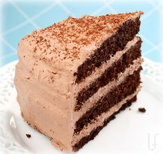 MOCHA CAKE with CHOCOLATE WHIPPED CREAM FROSTING I can not get enough of this cake! Which isn't necessarily a good thing... This is ...