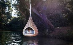 Teardrop Reading Nook, France #places #travel