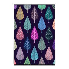 Compre Watercolor Forest Pattern II de @uniqued em posters de alta qualidade. Incentive artistas independentes, encontre produtos exclusivos.