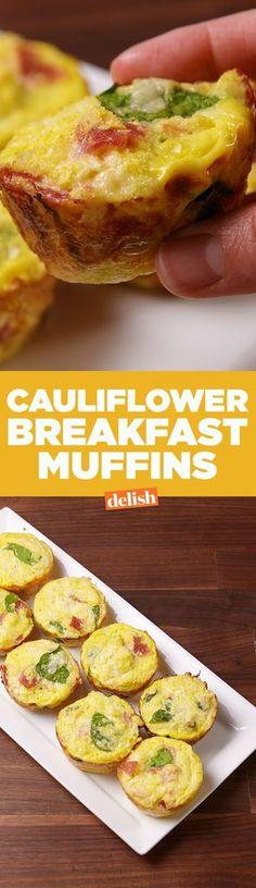 Cauliflower Breakfast MuffinsDelish