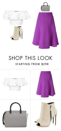 """""""Outfit Idea by Polyvore Remix"""" by polyvore-remix ❤ liked on Polyvore featuring Alexander McQueen, Marni and MICHAEL Michael Kors"""