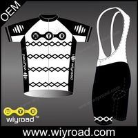 Accept sample original cycle wear,cycle short shirt set,custom wholesale half zip cycling wear jersey with very good price