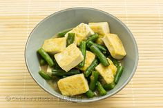 味噌豆腐四季豆 【日式小菜】 Miso Tofu and Green Beans from 簡易食譜