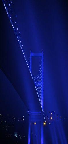 A night in İstanbul. Bosphorus bridge - ep <3