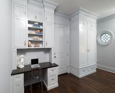 Mudroom. Desk Mudroom. Mudroom with desk area. #Mudroom #Desk Sotheby's Homes.