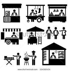Shutterstock : Marketplace Imágenes de archivo (stock), Marketplace fotografía de stock, Marketplace imágenes de stock