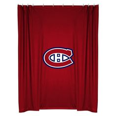 Montreal Canadiens Shower Curtain from Team Sports. Click now to shop NHL Bed & Bath Shower Curtains. Locker Room Shower, Bathroom Shower Curtains, Montreal Canadiens, Nhl Logos, Shower Liner, Lockers, Sports, Color, Collection