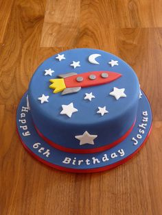 Perfect for a rocket b'day party.