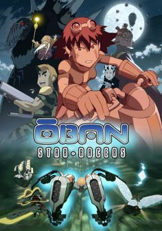 Oban Star Racers image board illustrations and promo poster work...