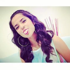 Silly and funny Becky G