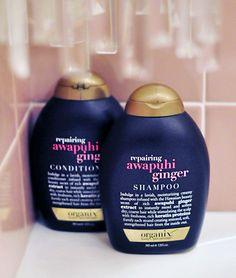 Awapuhi ginger shampoo & conditioner