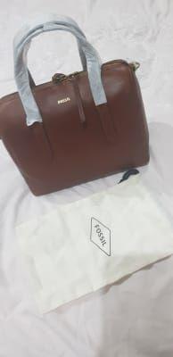 Sydney Satchel - SHB1978210 - Fossil Fake Designer Bags, Smooth Leather, Leather Satchel, Fossil, Sydney, Handbags, Wallet, Leather Briefcase, Totes
