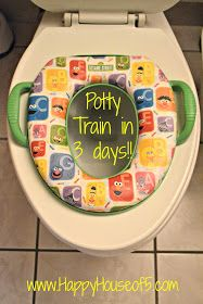 Happy House of 5: Potty Training in our Happy House