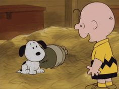 "necpd: """" The moment charlie brown adopted snoopy "" """