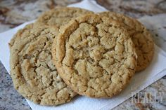 oatmeal peanut butter cookie -- these were delicious, added 1 cup chocolate chips too...soooo good!