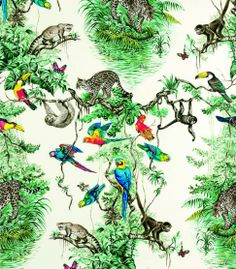Diese Tapete war mal ein Schal: Equateur von Hermès Maison