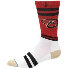 0ce37b1be Arizona Diamondbacks Stance Heathered Diamond Collection Socks - Red