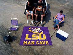 "Man Cave Tailgater (60""x72"") - Louisiana State University"