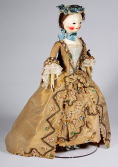 Fashion doll with accessories - Victoria & Albert Museum - Search the Collections  T.90 to V-1980