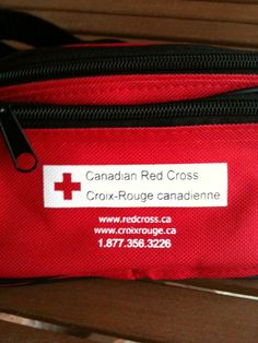 You can purchase a Canadian Red Cross emergency preparedness fanny pack for 15 percent off the usual 13.95 Cdn retail price during Emergency Preparedness Week. Here is a list of what the kit contains: http://twitpic.com/9gxdom I just received mine in the mail and it is fabulous.     Note: The American Red Cross sells a similar kit, too. And both organizations sell larger kits as well. (I like the fanny pak because it is so portable.)