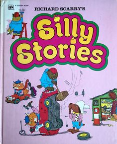 Richard Scarry& Silly Stories FREE AUS POST very good used cond illust hardback Picture Story, Picture Books, Reading Pictures, Bunny Book, Sleepy Bear, Richard Scarry, Social Enterprise, Line Friends, Bedtime Stories