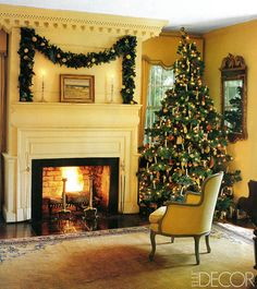 Christmas Tree Ideas From The Pages Of ELLE DECOR
