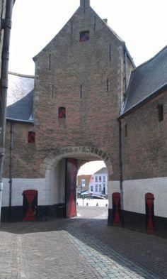 Stadspoort, Zierikzee, Zeeland. The Netherlands