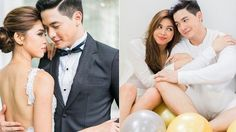 """No, they're not really getting married, but these gorgeous snapshots of Alden Richards and Maine Mendoza's """"prenup shoot"""" still make us swoon! Maine Mendoza, Alden Richards, Getting Married, Super Cute, Entertaining, Photos, Pictures, Funny"""