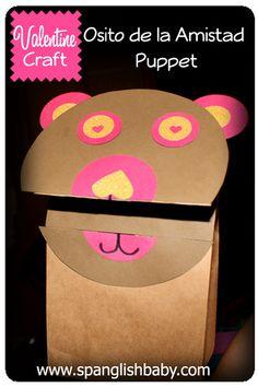 Puppet osito de la amistad friendship bear