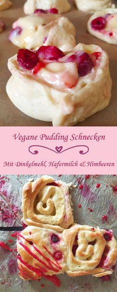 Fruchtig-süße vegane Pudding-Schnecken. Aus einfachen und wenigen Zutaten etwas Leckeres Veganes backen, dass auch Nichtveganer überzeugt.