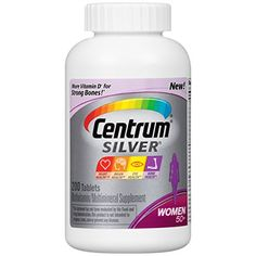 Centrum Silver, For Women 50 , 200-Count Bottle *** Be sure to check out this awesome product.