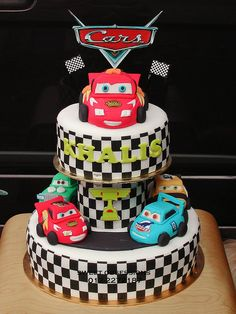 cars cakes | Pixar Cars Theme Cake | Flickr - Photo Sharing!