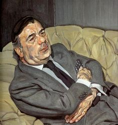 Lucian Freud Guy Half Asleep 1982