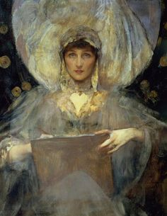James Jebusa Shannon (1862-1923),  Lady Violet, The Duchess of Rutland.