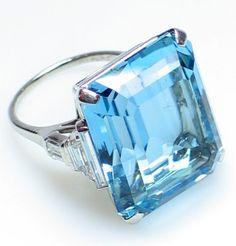 aquamarine ring: evrise
