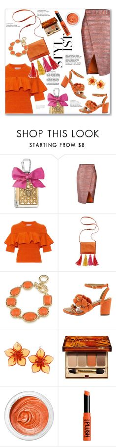 """""""06.09.17"""" by malenafashion27 ❤ liked on Polyvore featuring Juicy Couture, Apiece Apart, INC International Concepts, 1st & Gorgeous by Carolee, Dsquared2, Clarins, 3ina and NYX"""