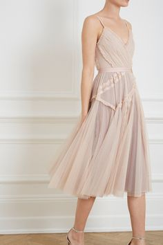 Ballet Couture Dress in Rose Quartz from Needle & Thread CR19
