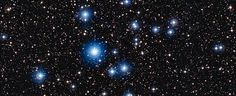Young, Hot and Blue - Stars in the cluster NGC 2547 Star Show, S Star, Constellations, Astronomy, Mother Nature, Headers, Telescope, Chile, Southern