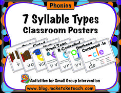 """It's always so much fun listening and watching our young readers figure out those """"longer"""" words. Many of our little ones are pretty solid decoding one-syllabe words and are now ready to learn strategies for decoding multisyllabic words. So, really, what is a syllable? Simply put, a syllable is a unit of pronunciation containing a …"""