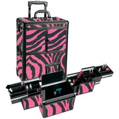 Cosmetology Bag On Wheels | Health & Beauty > Salon & Spa Equipment > Rolling Makeup Cases