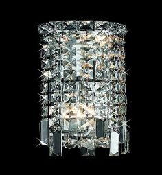 Tomia Crystal Chandeliers N 1750/02/005 chrome/ Bohemian Crystal Taima Contemporary Wall Sconce