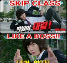 Dalpo the Boss ;)  #Pinocchio #LeeJongSuk #kdrama