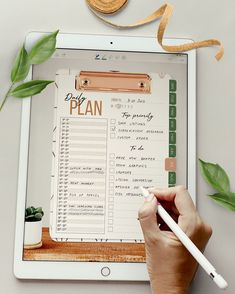 Tropical desk Digital planner - Diary - To do list - Customizable Vision board + Bonus add-ons To Do Planner, Project Planner, Planner Pages, Life Planner, Happy Planner, Monthly Planner, Online Bullet Journal, Bullet Journal Ideas Pages, Bullet Journals