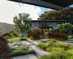 garden architecture Gallery of Butterfly House / Feldman Architecture - 50 Modern Landscaping, Backyard Landscaping, Garden Architecture, Architecture Design, Architecture Graphics, Garden Spaces, Garden Beds, Butterfly House, Contemporary Garden