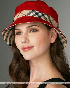 Beautiful Trendy Hat For Girls Funky Hats, Cute Hats, Red Hats, Hat Patterns To Sew, Sun Hats For Women, Stylish Hats, Diy Hat, Love Hat, Hat Making