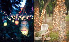 Luces jardin