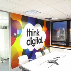 www.vinylimpression.co.uk Office Branding Large Scale Projects for Offices to Transform Your Office Space