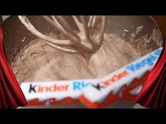 Kinderschokolade Buttercreme Fondant tauglich Kuchen Backen Torten dekorieren - YouTube