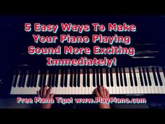 ▶ 5 Easy Ways You Can Improve Your Piano Playing Without Practice! - YouTube